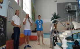 II Mistrzostwa Polski w szachach pod wodą otwarcie mistrzostw - dyrektor
